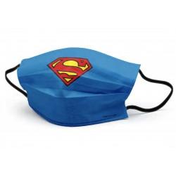 Mascarilla DC - SUPERMAN - [ Talla Adulto ]