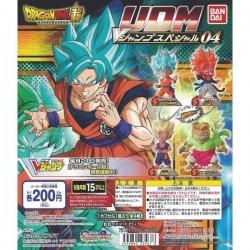 1 Gashapon - DRAGON BALL - UDM V Jump Special 3 - Llavero