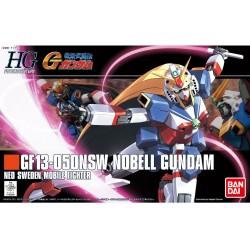 Maqueta GUNDAM - GF13-050NSW Nobell Gundam  - Gunpla HG - 1/144