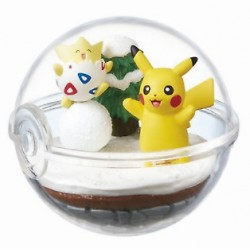 POKEMON - Terrarium Collection 2 -  Togepi & Pikachu