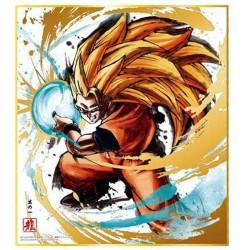 DRAGON BALL - Shikishi Art Special 01 - GOKU SSJ3 - Ilustración