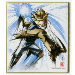 DRAGON BALL - Shikishi ART 7 - TRUNKS SSJ - Ilustración