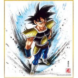 DRAGON BALL - Shikishi ART 7 - BARDOCK - Ilustración