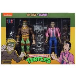 TORTUGAS NINJA - Rat King & Vernon - Figure Set