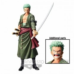 One Piece - RORONOA ZORO - Grandista Nero