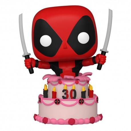 POP - Deadpool 30th Anniversary - DEADPOOL (in Cake) - Funko
