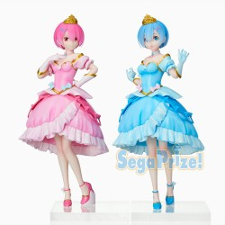 Re:Zero - REM & RAM (Pretty Princess ver.) - SPM Figure