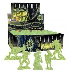 Aliens in Glowing Slime