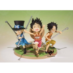 Figuarts Zero One Piece A promise of Brothers - Luffy, Ace & Sabo