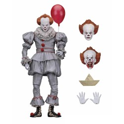 IT - PENNYWISE 2017 - ACTION FIGURE - 18 CM