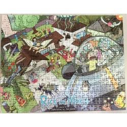Puzzle - RICK & MORTY - 300 piezas - LC Exclusive
