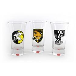 Vasos de chupito - METAL GEAR SOLID 25th Anniversary Edition - 9 cm