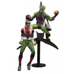 Marvel Select - GREEN GOBLIN & SPIDER-MAN - 18 cm