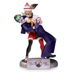 ESTATUA - HARLEY QUINN & THE JOKER - BOMBSHELL - 25 cm