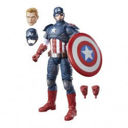 Marvel Legends - CAPITÁN AMÉRICA - 30 cm
