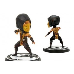 Mortal Kombat X Bobble Head - SCORPION (Bloody ver,) - 15 cm