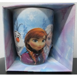 Taza FROZEN - Elsa, Anna y Olaf - 320 ml