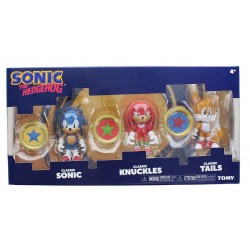 SONIC THE HEDGEHOG - Sonic - Knuckles - Tails