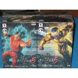 Goku y Golden Freezer