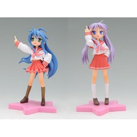 Lucky☆Star - KONATA & KAGAMI - EX Figure Set