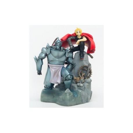 Fullmetal Alchemist - ALPHONSE & EDWARD ELRIC - Book in Figure