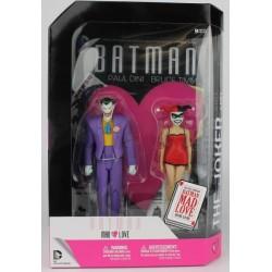 BATMAN : Mad Love - The Joker & Harley - Figuras + Comic