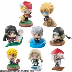 Naruto - BORUTO & HOKAGES - Petit Chara Land Figure Set