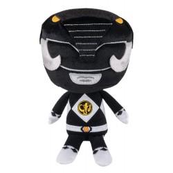 Peluche Power Rangers - BLACK RANGER - 20 cm