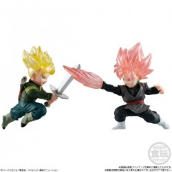 Dragon Ball Adverge Motion - GOKU BLACK vs TRUNKS