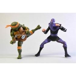 Tortugas Ninja - MICHELANGELO & FOOT SOLDIER - Pack