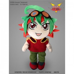 Peluche Yu-Gi-Oh! ARC-V - Yuya Sakaki - 30 cm