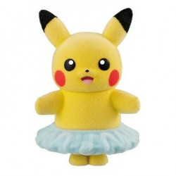 POKEMON - Pokemofu Doll - PIKACHU (Ballet)