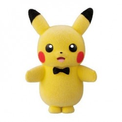 POKEMON - Pokemofu Doll - PIKACHU (Ribbon)