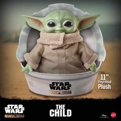 "Peluche STAR WARS - The Mandalorian  - THE CHILD  (""Baby Yoda"")"