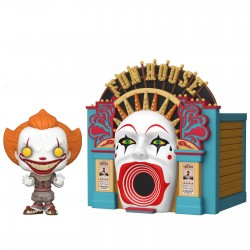 POP Movie Moments - PENNYWISE in FUN HOUSE- Funko