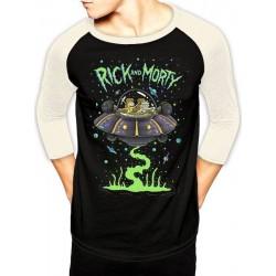 Camiseta RICK & MORTY - (S) - Nave