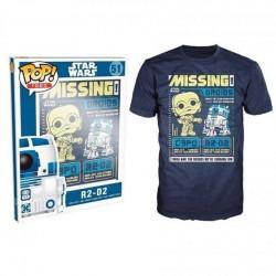 Camiseta STAR WARS - (XL) - Missing Droids