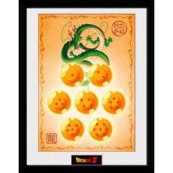 Poster enmarcado - DRAGON BALL - Shenron