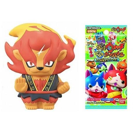 Yo-Kai Watch -  FLAMILEÓN - Figura + Cartas