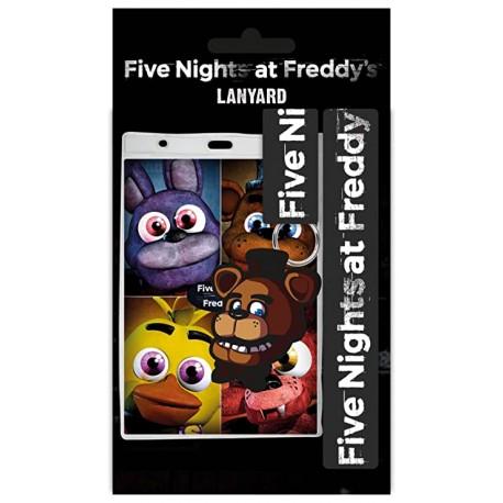 Colgante con Llavero FIVE NIGHTS AT FREDDY´S
