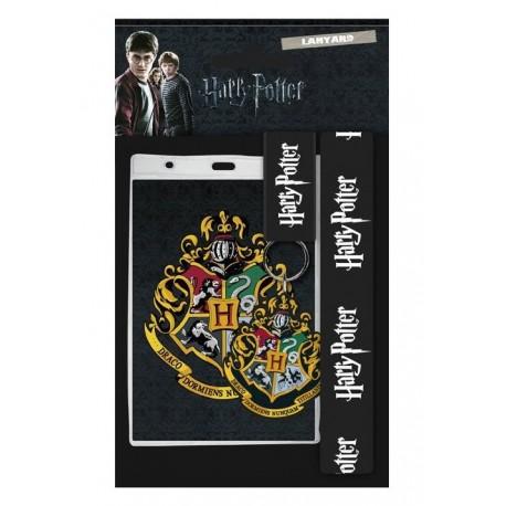 Llavero con cinta y mosquetón - HARRY POTTER - Hogwarts