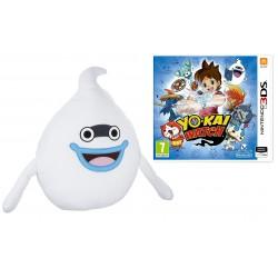 Yo-Kai Watch - PELUCHE (40 cm) + JUEGO 3DS