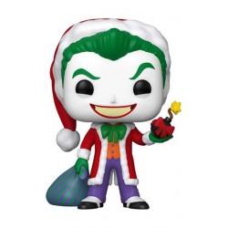 POP - DC Holiday - JOKER (Santa) - Funko